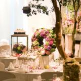 パーティーの花束・会場装花 アートココ樹里