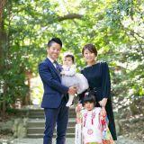 家族写真・記念写真 Leaf wedding