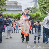お宮参りの写真撮影 Emotional image