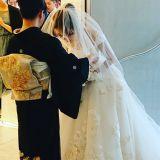 結婚式の写真撮影 らいむ美容室