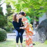 お宮参りの写真撮影 Leaf wedding