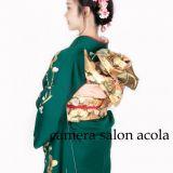 成人式の写真撮影 camera salon acola