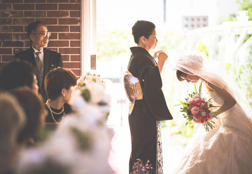 結婚式の持ち込みカメラマンの撮影した画像
