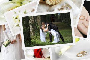 結婚式の写真のデータでアルバムを自分で作る!