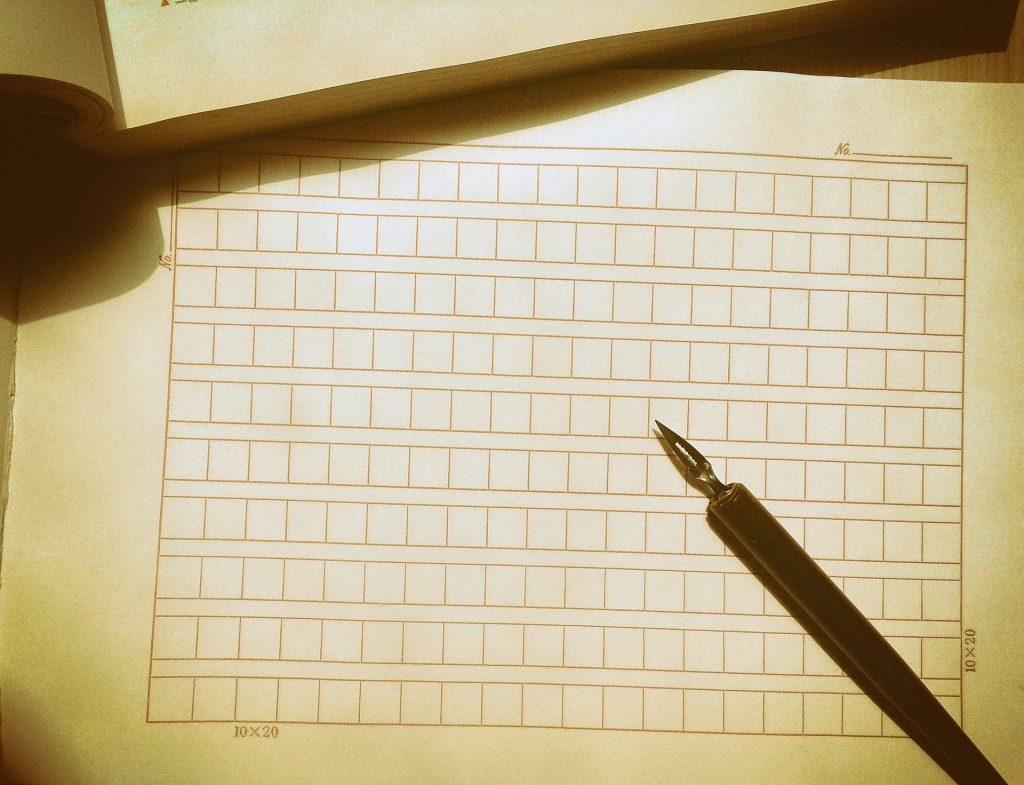 内容証明は用紙や筆記用具に決まりはありません