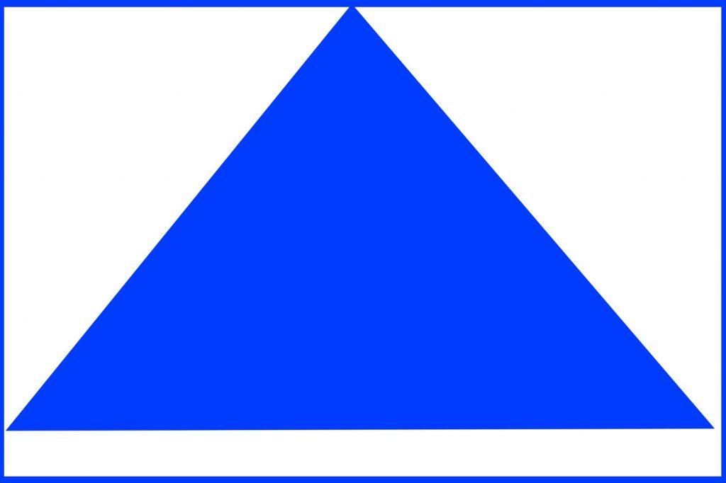 三角形構図三角形構図。画像提供 Mphoto