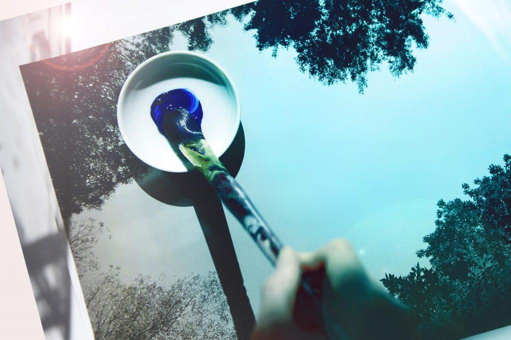 レタッチイメージ。photo by Mphoto