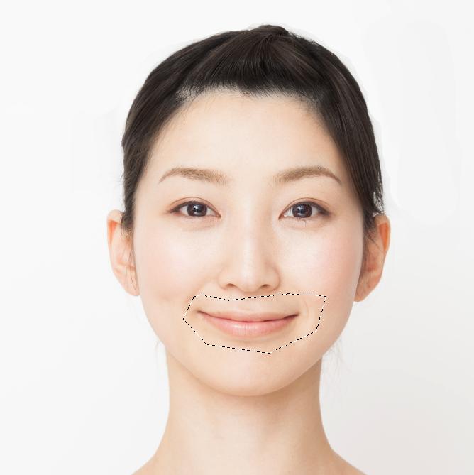 レタッチテクニック6|人物の唇の色 Photo by Mphoto