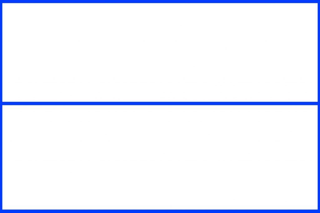 シンメトリー構図(二分割法)