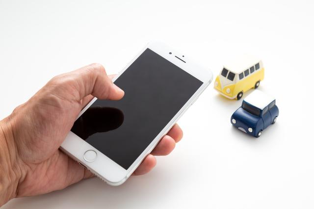 車 スマートフォン