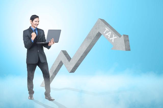 個人事業主の税負担が軽くなるイメージ