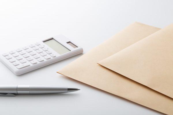 電卓と文房具類