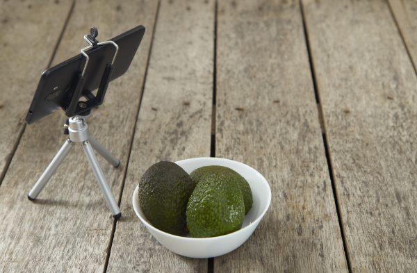 料理写真の便利アイテム スマホ用三脚