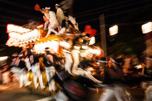 夜のお祭り写真の撮り方