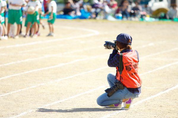 運動会をプロのカメラマンに依頼