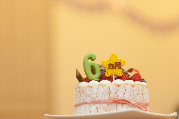 人気のホール型離乳食ケーキ