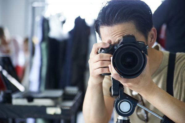 人物写真をプロカメラマンに依頼