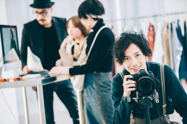 男性プロカメラマン
