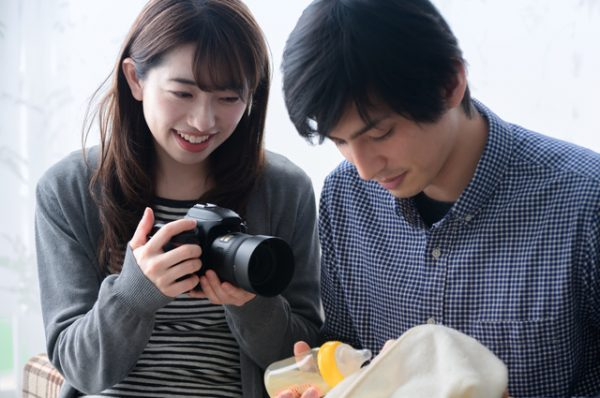新生児写真を撮るときの気を付ける注意点!