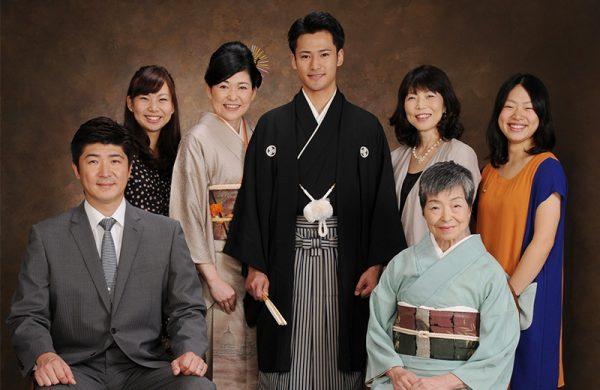 家族写真をプロカメラマンに依頼