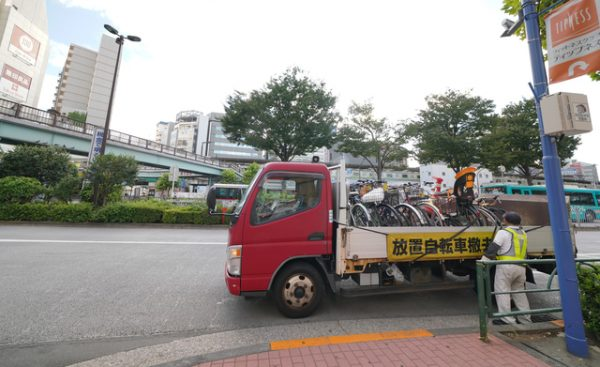 迷惑な放置自転車!処分するにはどうしたら?