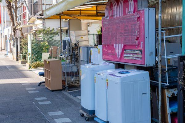 冷蔵庫をリサイクルショップへ