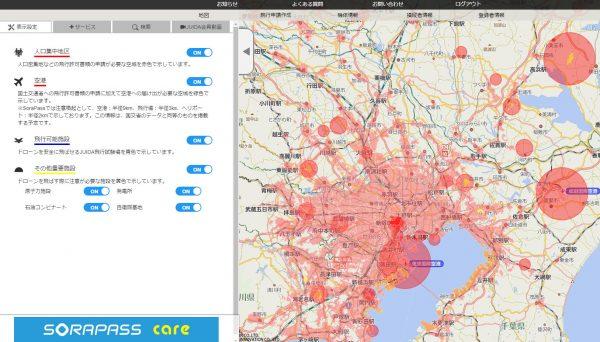 sorapassのマップ