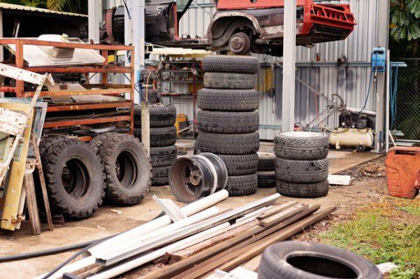 タイヤはどこで処分できるの?