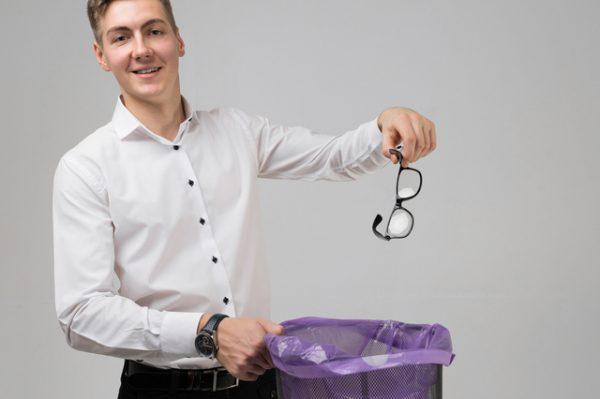 眼鏡のゴミとして処分するにはどうしたらいい?