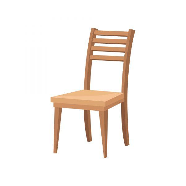 分解して燃えるゴミとして出せる椅子