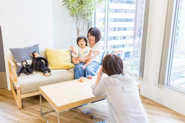赤ちゃんと家族の写真もたくさん残そう!プロのカメラマンで叶います