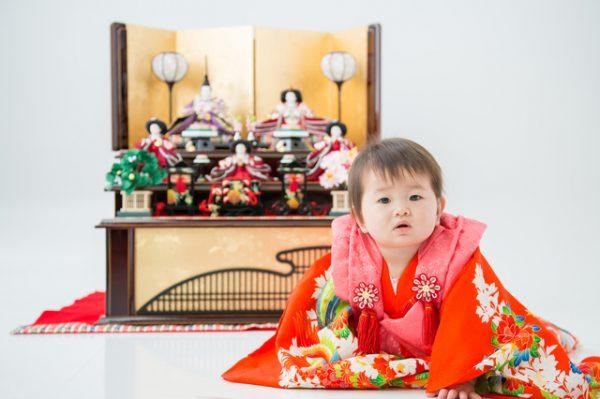 赤ちゃんの行事で女の子の初節句はひな祭り
