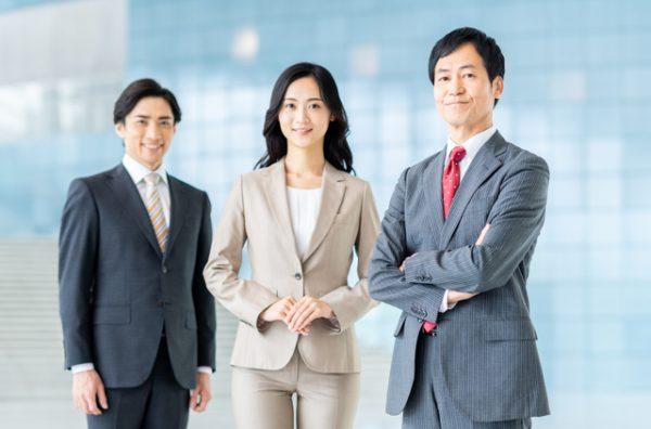相続税に強い税理士の男女3人
