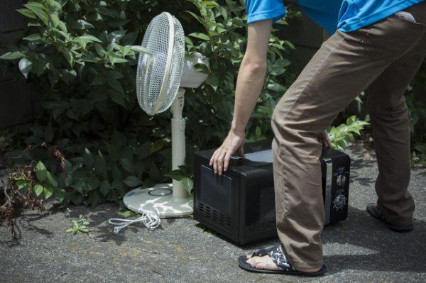電子レンジを処分する方法5つ