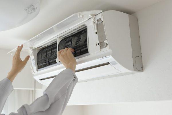 エアコン取付の画像