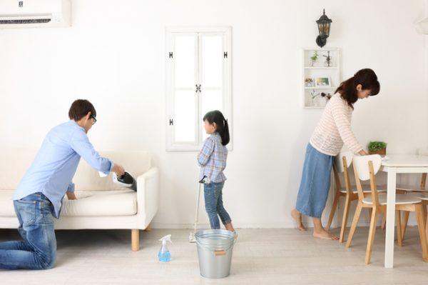 大掃除を上手に進めるコツ